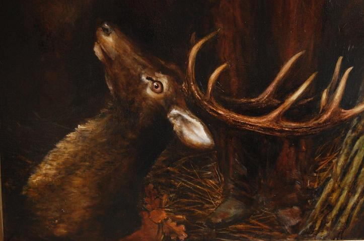 Karel Schwarzenberg portrait - detail