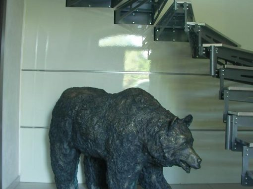 The Wall – Bear sculpture