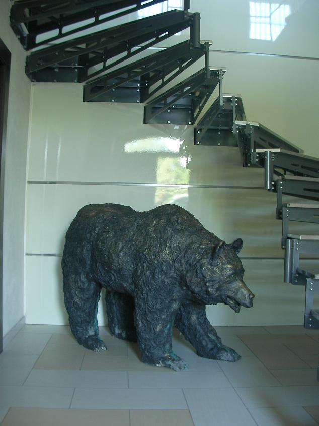 The Wall - Bear sculpture