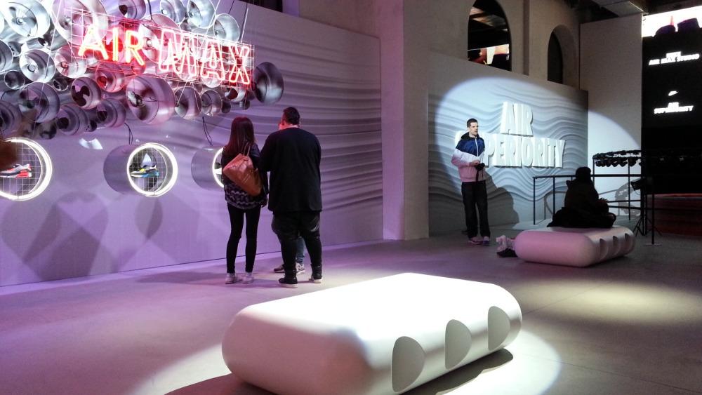 Nike seats AirMaxPrague