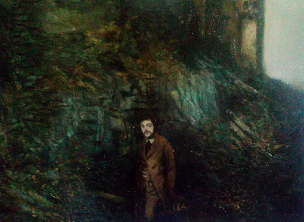 Franz 1842, oil on canvas , 70 x 80 cm, 2016