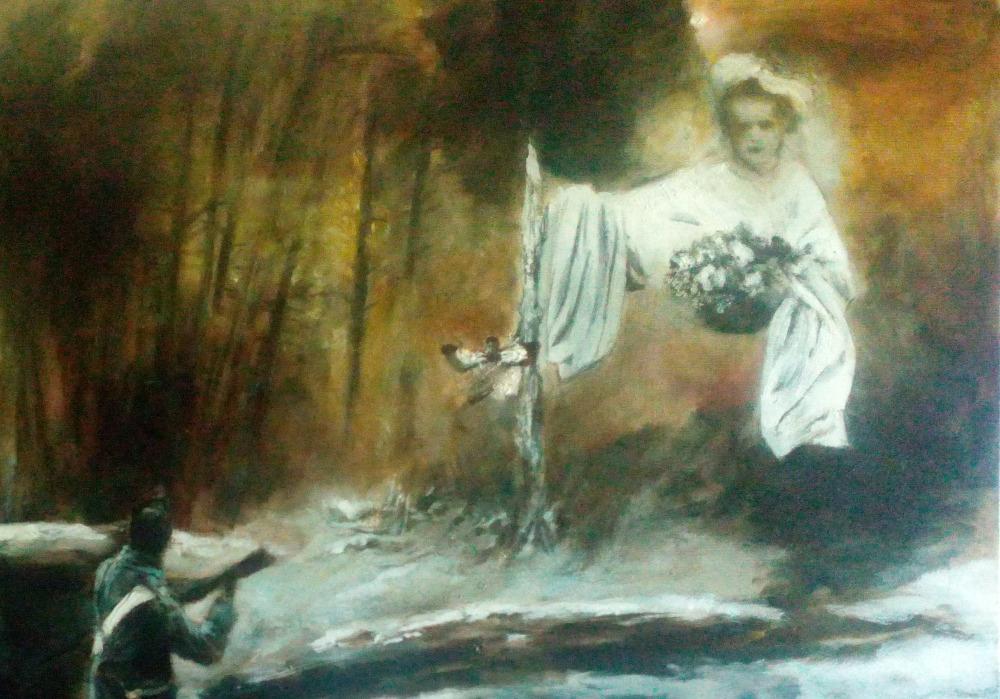 Theodor 1813, oil on canvas 70 x 80 cm 2016