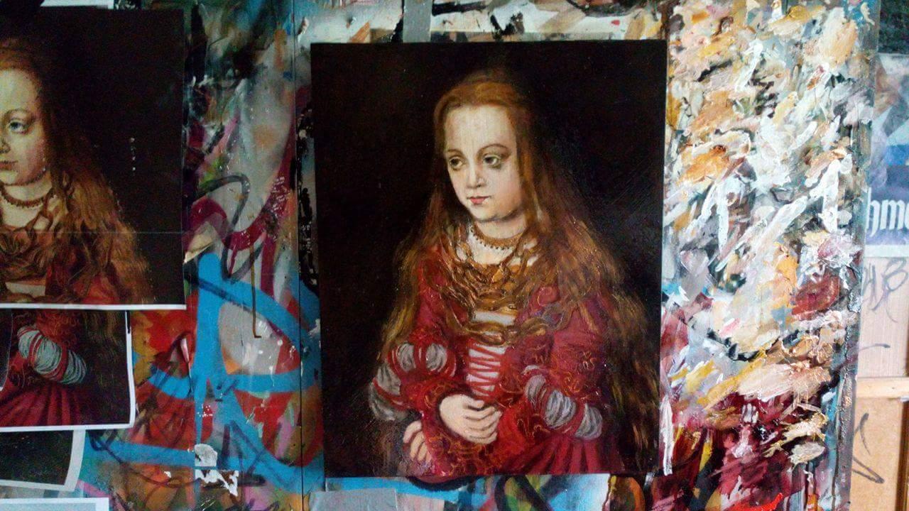 Painting for LUCAS CRANACH Studio